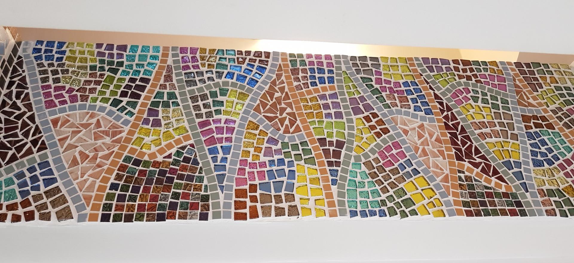 Long mosaic