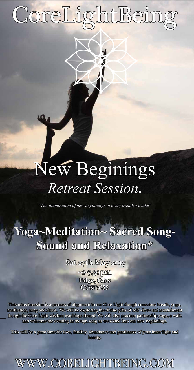 New Beginning Retreat Session 27th May 2017/