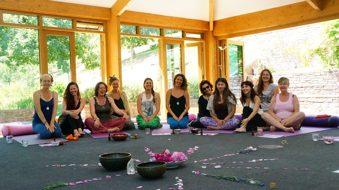 Sisterhood of the Rose retreat ~29th September 2018` Asha Centre ~ Forest of Dean. UK