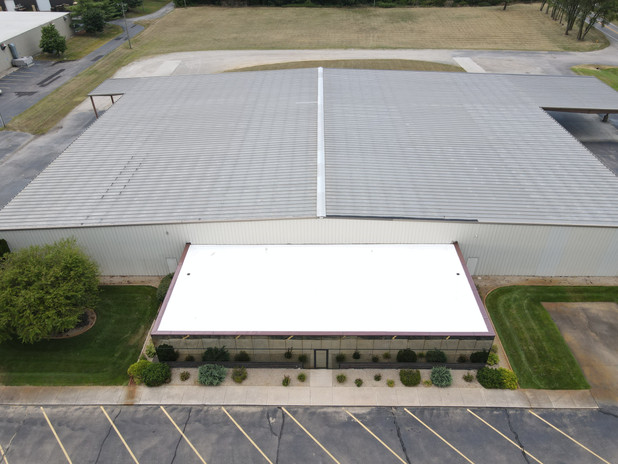 commercial roofing project South Bend.jp
