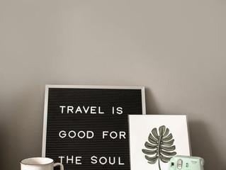 Viajar é bom para a alma