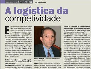 Entevista : A Logística da competitividade