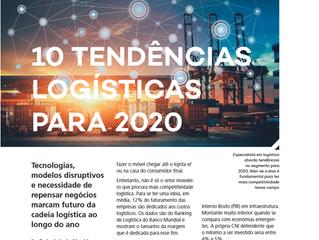 Revista Mobile publica 10 Tendências Logísticas para 2020