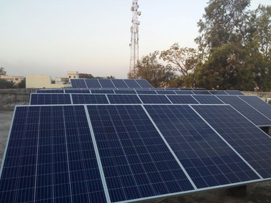 30KW SOLAR PV GRID-CONNECTED POWER PLANT