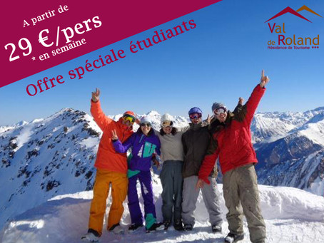PROMO SKI ÉTUDIANTS
