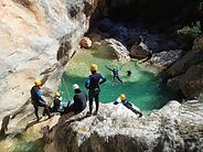 Canyoning y speleology with Pyrene Sports en Luz St Sauveur