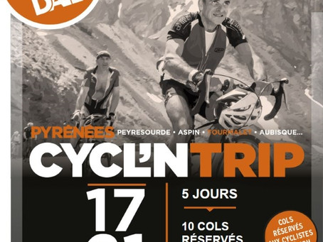 Cycl'nTrip du 17 au 21 juillet