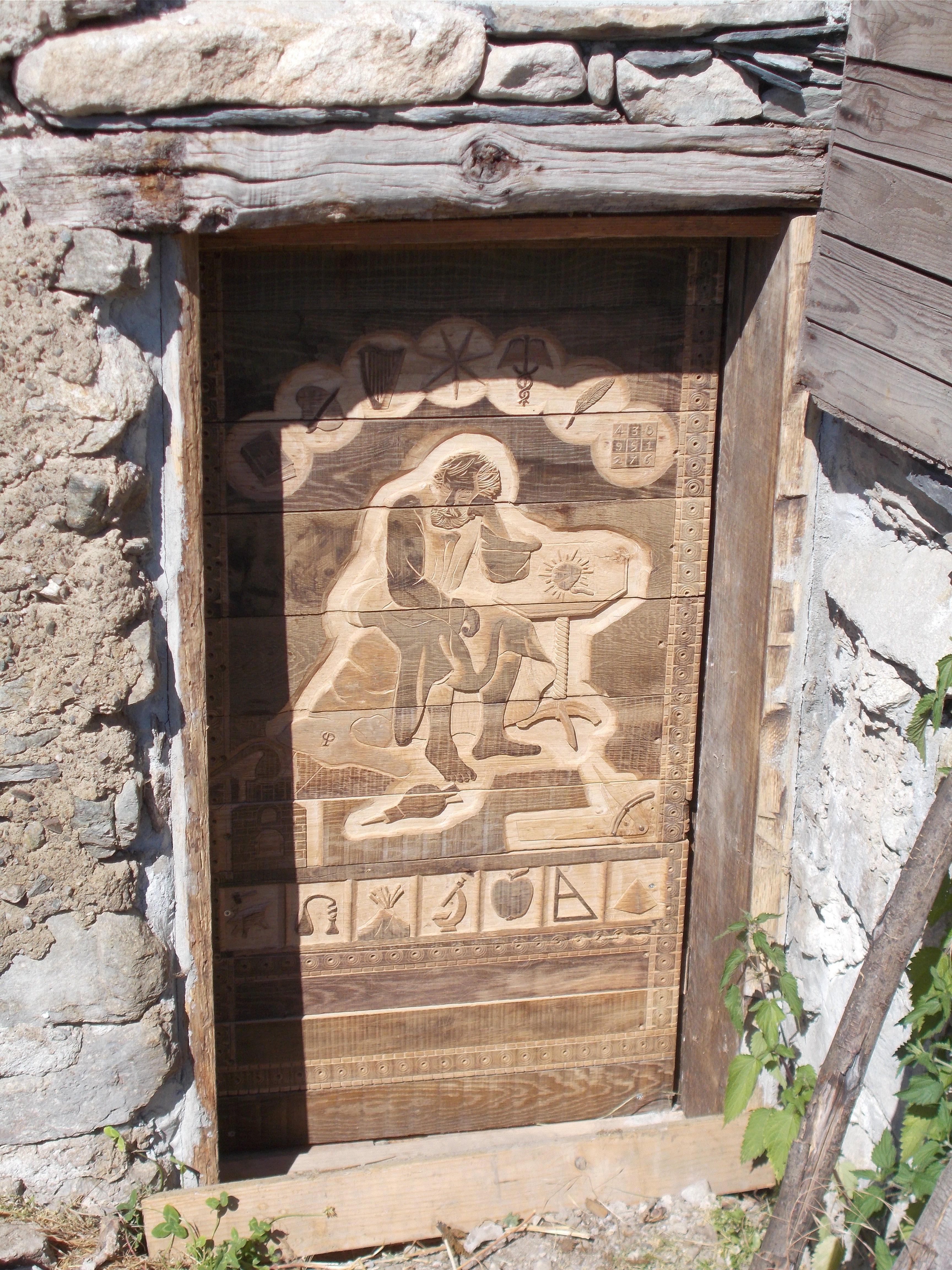 Porte Alchimique P2