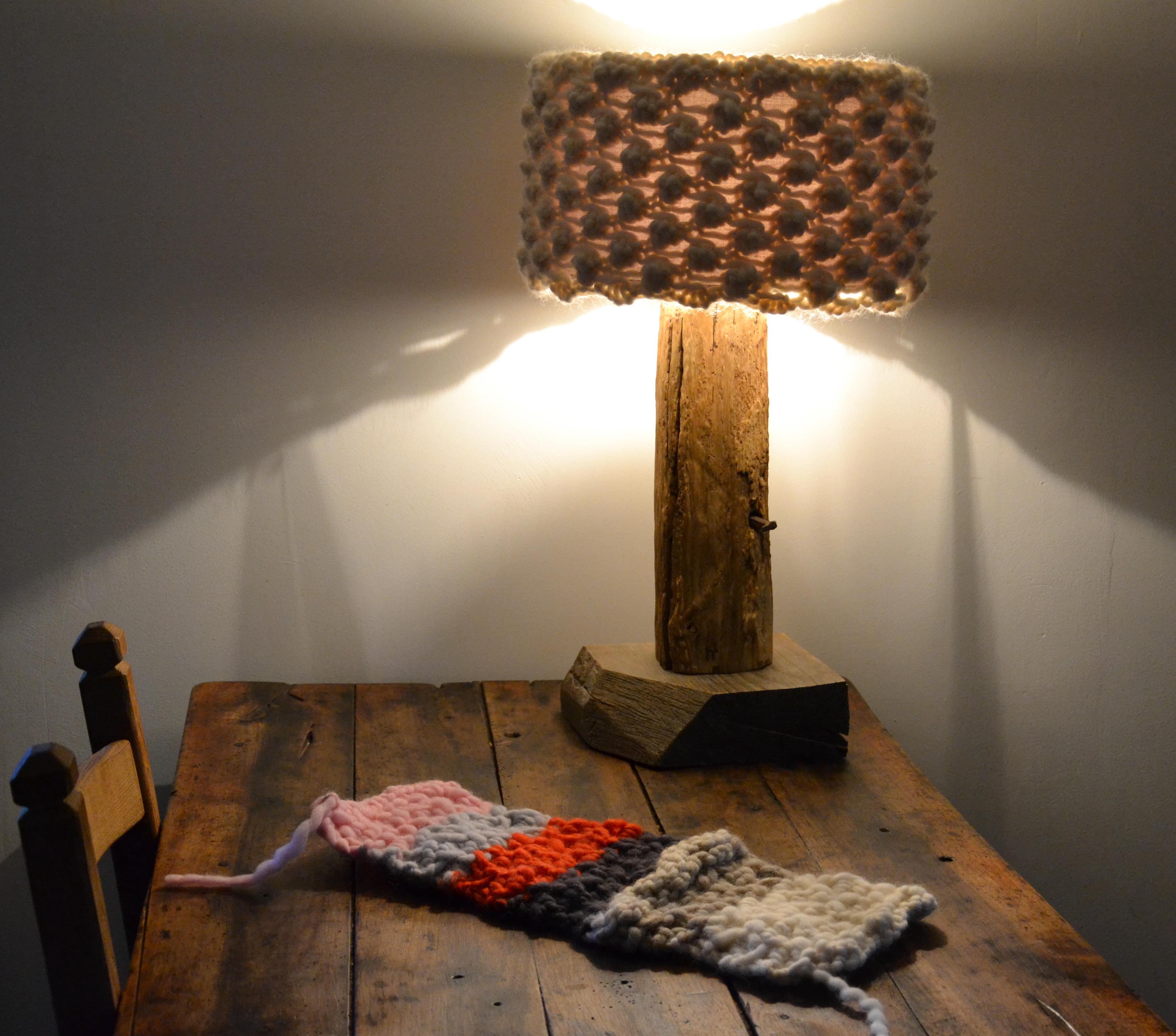 """Lampe """"Charpente"""""""