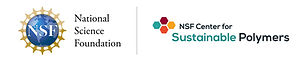 Logo for NSF Center for Sustainable Polymers