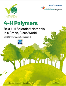 Cover page of 4H STEM Curriculum for Grades K-2