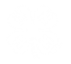 4-H logo shaped like a clover