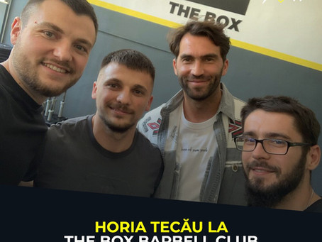 Horia Tecău la The Box Barbell Club
