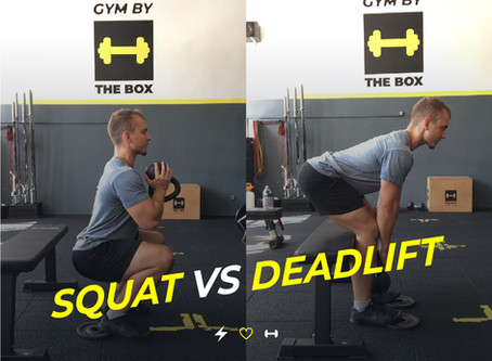 Squat VS Deadlift