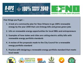 Cutting Entergy Bills & Growing Green Jobs
