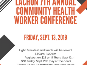 Lachon 7th Annual Community Health Worker Conference