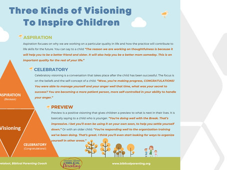 What is visioning and how to use it in parenting?