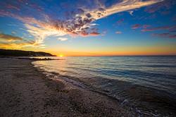 orient sunset