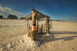 pikes beach hut