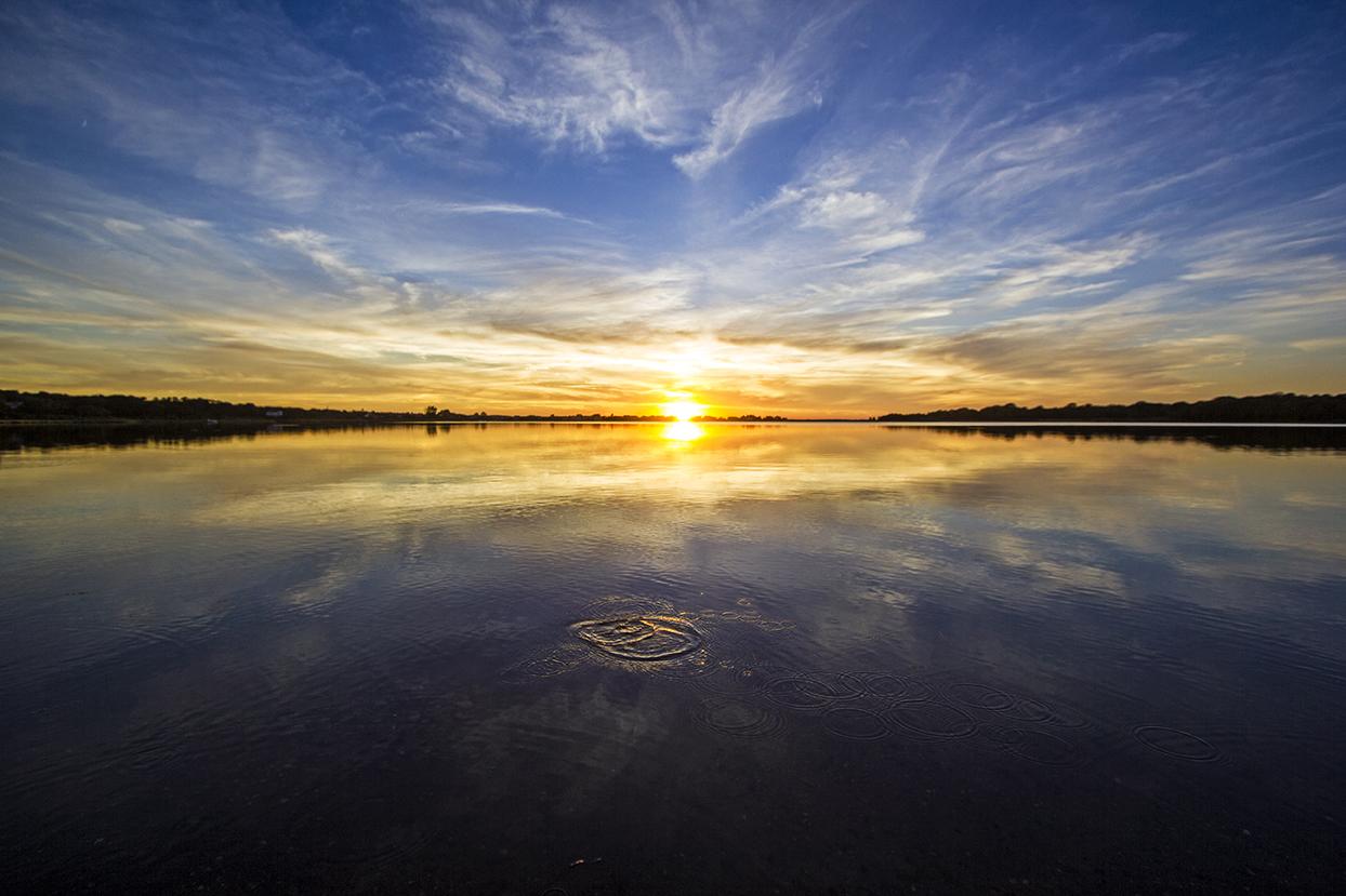 sunset drip