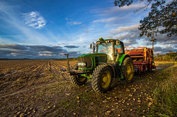 eastport potato farm tractor
