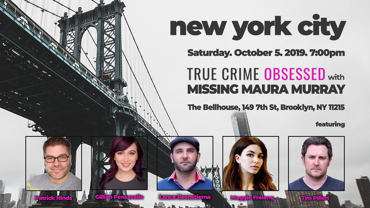 SEE US LIVE   True Crime Obsessed   The True Crime / Comedy Podcast