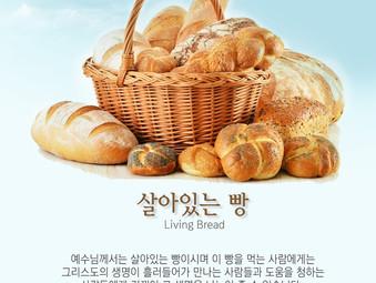 [1분묵상] 살아있는 빵