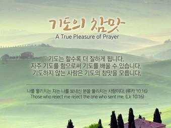 [1분묵상] 기도의 참맛