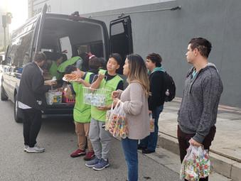 [한마음 나눔] 2019.12.08 로스엔젤레스 다운타운 봉사