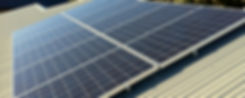Solar panels in North Lakes