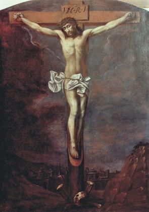Anonym, Kristus na kříži