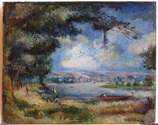 W. Nowak, Na břehu řeky