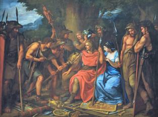 J. Bergler, Heřman po bitvě v Teutoburském lese