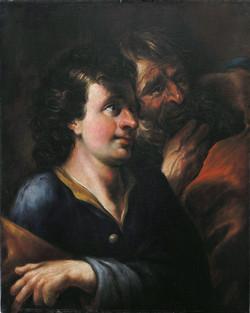 M. V. Halbax, Sv. Pavel a Silas ve vězení
