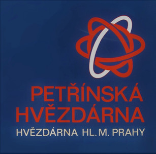 Petřínská hvězdárna, návrh loga, 1975