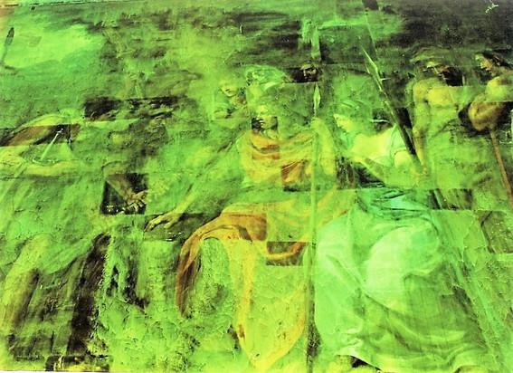 UV luminescence v průběhu restaurování