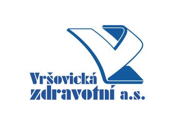 Vršovická zdravotní a.s., návrh realizovaného loga, 2007