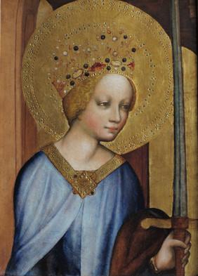 kopie - výřez se sv. Kateřinou