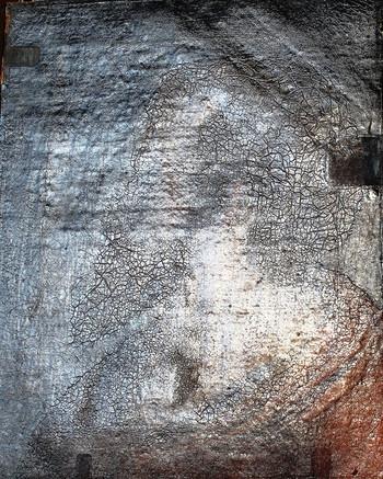 stav před restaurováním - boční osvit