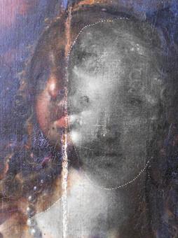 kompoziční pentimenti - detail digitálně upraveného snímku