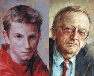 klasický malířský portrét