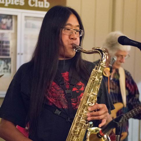 Mark Yee on Sax