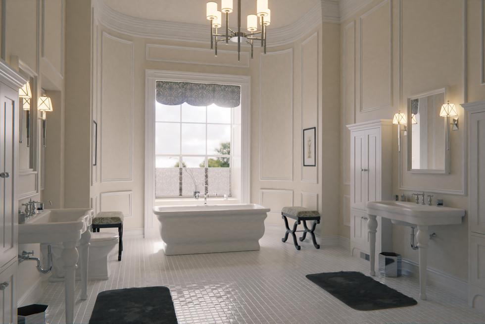 Mrs.President's bathroom