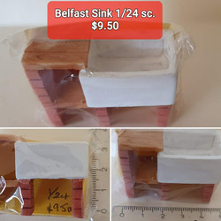 1/24 Belfast Sink