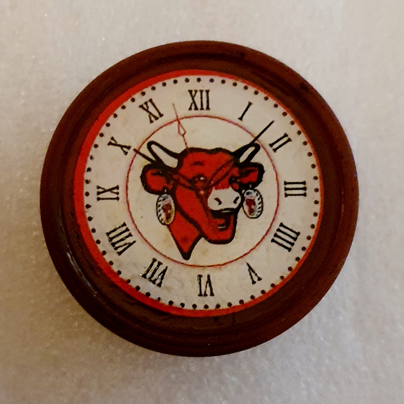Cow Clock $3.50