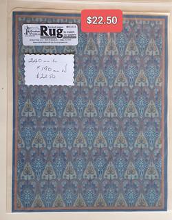 Wm Morris Design Rug Lge $22.50