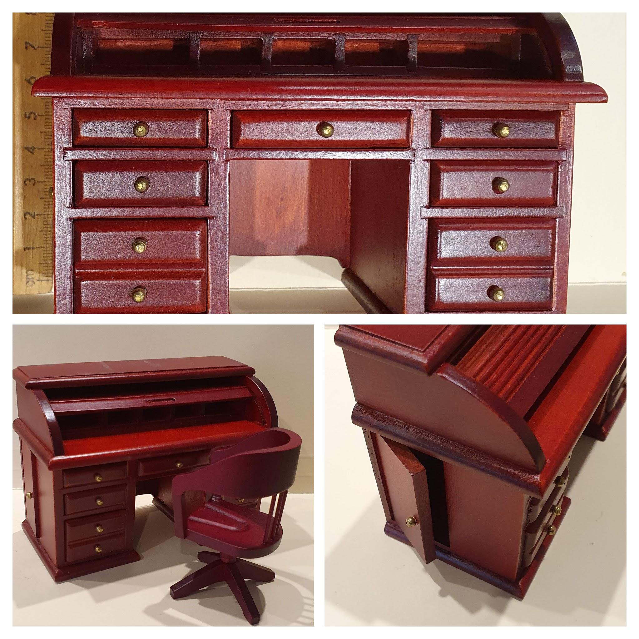 Rolltop Desk (MH) $32.50