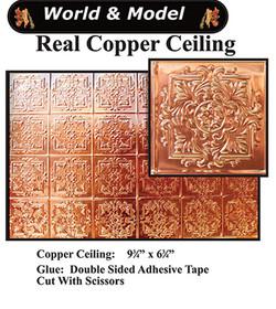 Copper Ceiling, 1 Pce, $55