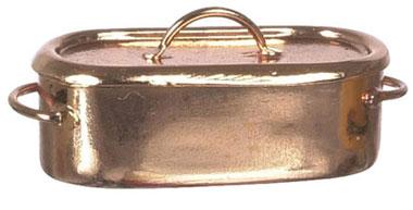 SOLD- Copper Fish Poacher $13.50
