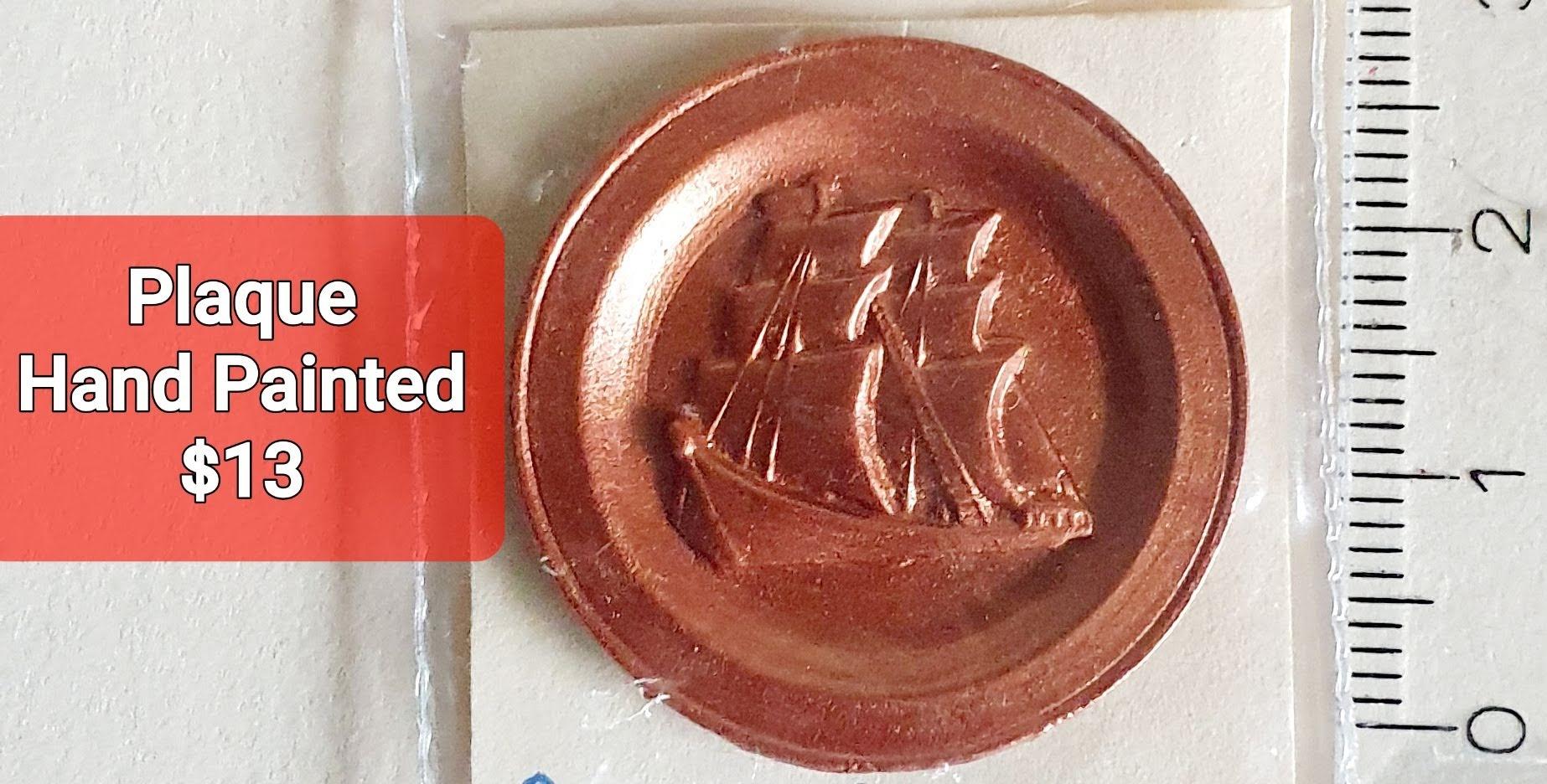 Copper Wall Plaque $13